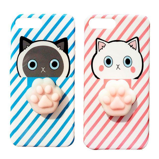 Чехол-антистресс для iPhone Кошачья лапка