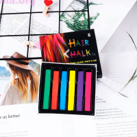 Мелки для окрашивания волос, 6 штук