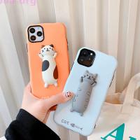 Чехол-антистресс для iPhone «Cat»