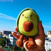 Мягкий брелок «Авокадо»