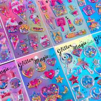 Наклейки «Glitter magic»