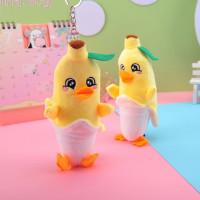 Мягкий брелок «Banana duck»