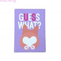 Обложка на паспорт «Guess what»