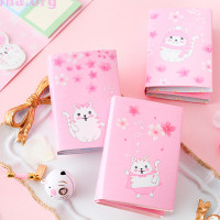 Книжка со стикерами «Cat's pink world»
