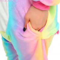 Костюм-кигуруми «Радужный единорог»