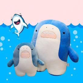 Мягкая игрушка-подушка «Акуленок» маленькая