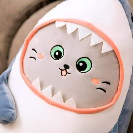 Мягкая игрушка «Котенок-акуленок»