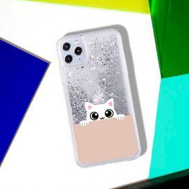 Чехол для iPhone «Белый котик»