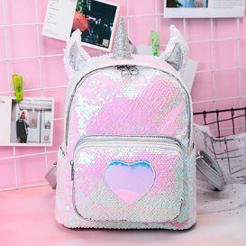 Рюкзак с пайетками «Shiny unicorn»