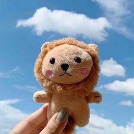 Мягкий брелок «Львенок»