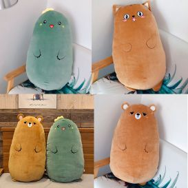 Мягкая игрушка-подушка «Зверек-пухлик»
