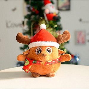 Мягкая игрушка «Новогодний олень»