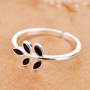 Кольцо «Black leaf»