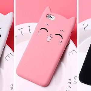 Чехол для iPhone «Котик-улыбашка»