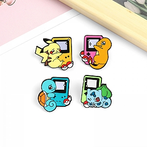 Брошь-значок «Pokemon game»