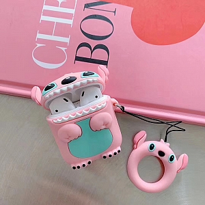 Чехол для AirPods «Розовый Стич»
