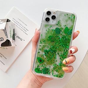 Чехол для iPhone «Арбуз и авокадо»
