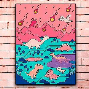 Постер «Динозавры. Апокалипсис» большой