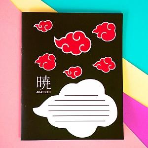 Тетрадь «Akatsuki» 12 листов