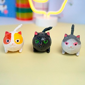 Сквиши «Angry cat» маленький