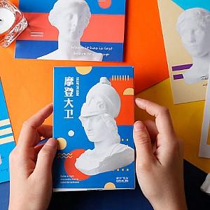 Набор почтовых открыток «Art»