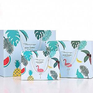Подарочный пакет «Flamingo & Beach summer» средний