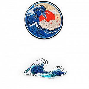 Нашивка «Большая волна в Канагаве»