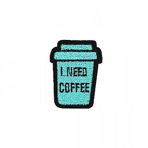 Нашивка «I need coffee»