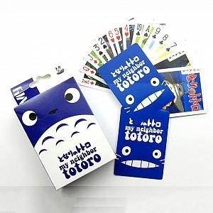 Игральные карты «My neighbor Totoro»