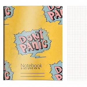 Тетрадь «Don't panic»