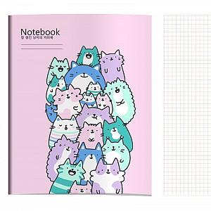 Тетрадь «Поющие котики»