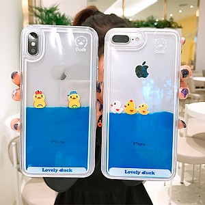 Чехол для iPhone «Lovely duck»