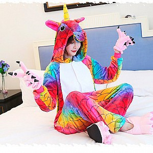 Костюм-кигуруми «Colorful unicorn»