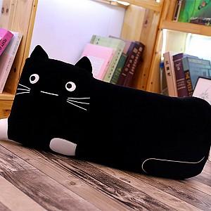 Мягкая игрушка-подушка «Черный котэ»
