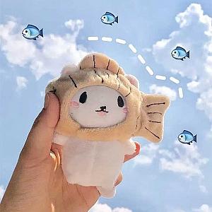 Мягкий брелок «Fish cat»