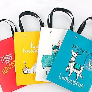 Подарочный пакет «Lama» маленький