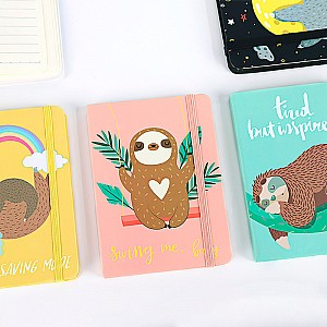 Блокнот «Lazy sloth» большой