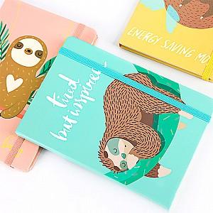 Блокнот «Lazy sloth» средний