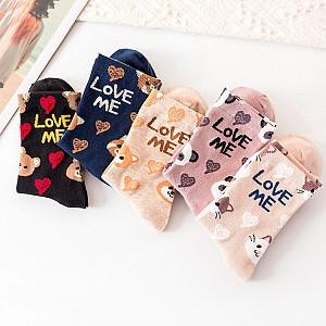Носки «Love me»