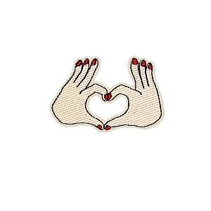 Нашивка «Love you»