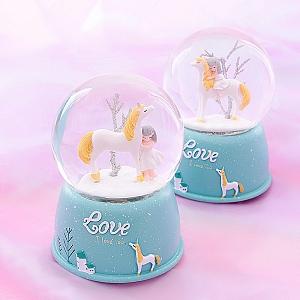 Стеклянный шар «Lovely unicorn»