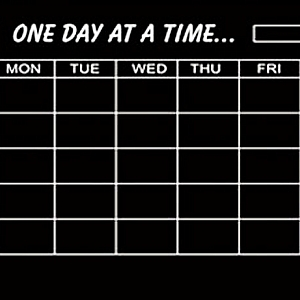 Самоклеющаяся пленка «One day at a time»
