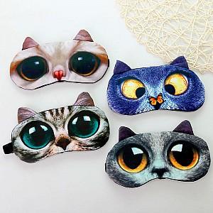 Маска для сна «3d котейка»