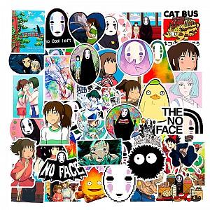 Набор наклеек «Мир Хаяо Миядзаки»