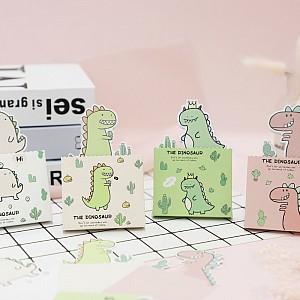Отрывные листы для заметок «The dinosaur»