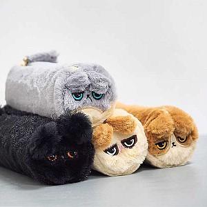 Плюшевый пенал «Furry cat»