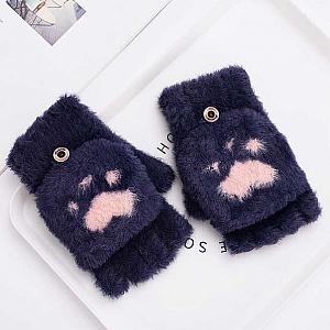 Перчатки-варежки «Кошачья лапка»