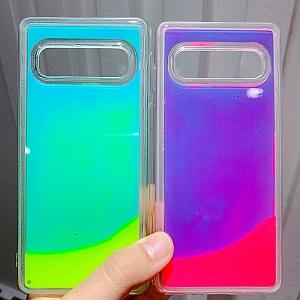 Чехол для iPhone светящийся «Glowing sand»