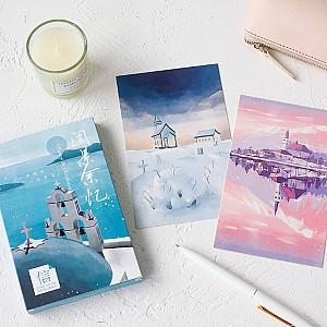 Набор почтовых открыток «Вокруг света»