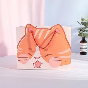 Подарочный пакет «Рыжий кот»